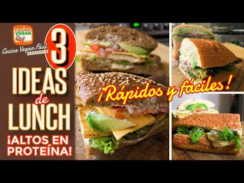 Repeat 3 ideas de lunch, fácil y rápido - Cocina Vegan Fácil by ...