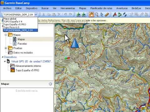 BaseCamp 7: Instalar Mapa TopoHispania.