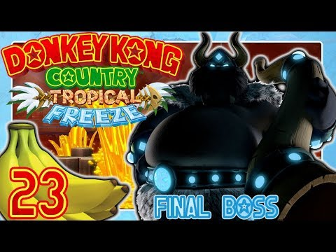 Frostfeuriges Finale gegen Fredrik the Snowmad King 🍌 DONKEY KONG COUNTRY: TROPICAL FREEZE #23
