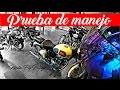 Royal Enfield classic 500 Test Ride Español