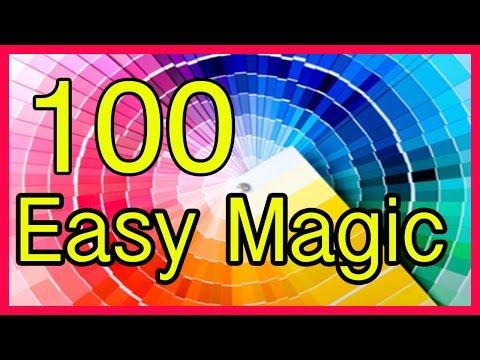 Compilation  Easy Magic Tricks Revealed Tutorial 100