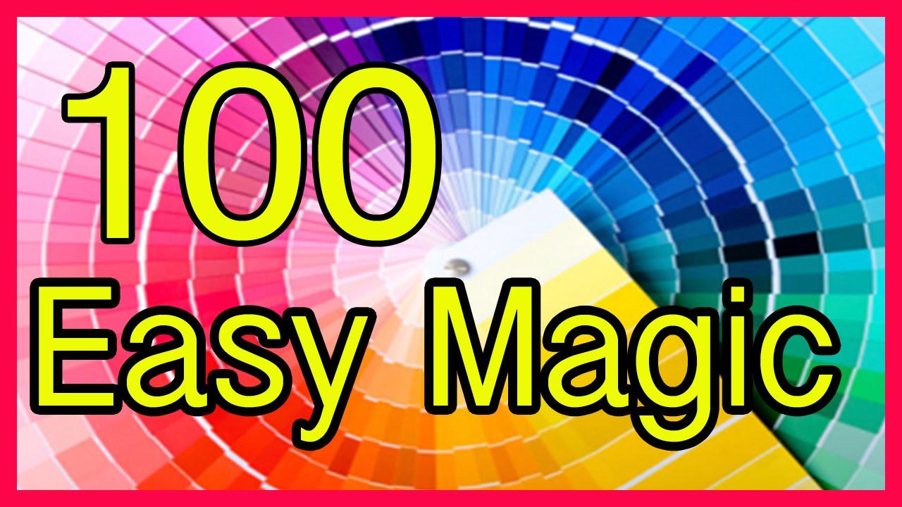 Compilation Easy Magic Tricks Revealed Tutorial 100 - YouTube