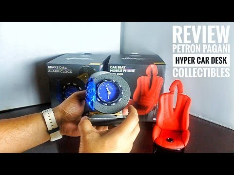 Review Petron Pagani Hyper Car Desk Collectibles