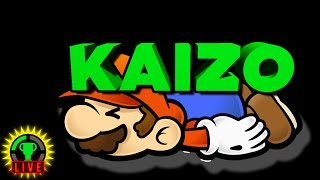 GTLive: Kaizo Mario, Stream of DEATH!