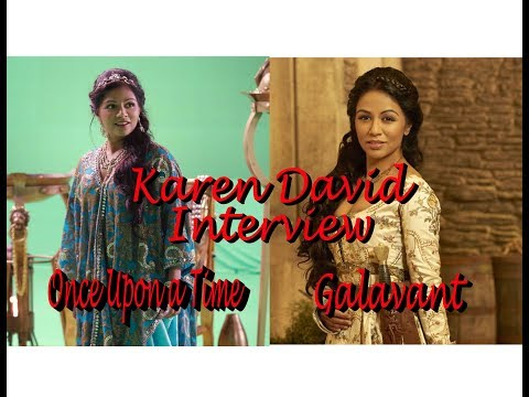 Once Upon a Time's Karen David  Insightful  with Juliette Boland