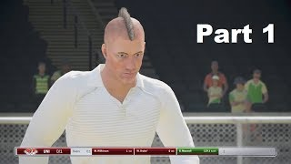 Ashes Cricket - Player Career Mode - Part 1