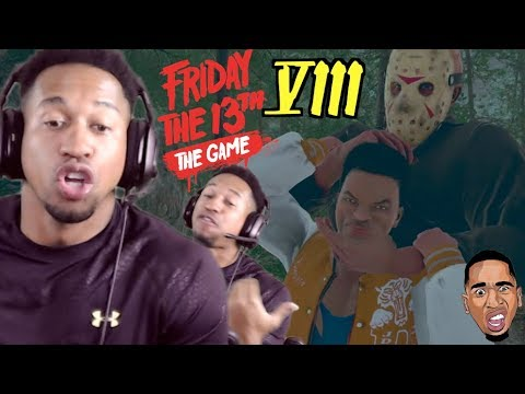 LET ME GET MY NECK BACK!! Friday the 13th Gameplay #8