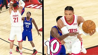 BACK TO BACK BUZZER BEATER 3! 1ST DAY AT PRACTICE! NBA 2k20 MyCAREER Ep. 10