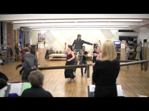An exclusive look into the rehearsal studio of DOCTOR ZHIVAGO on Broadway