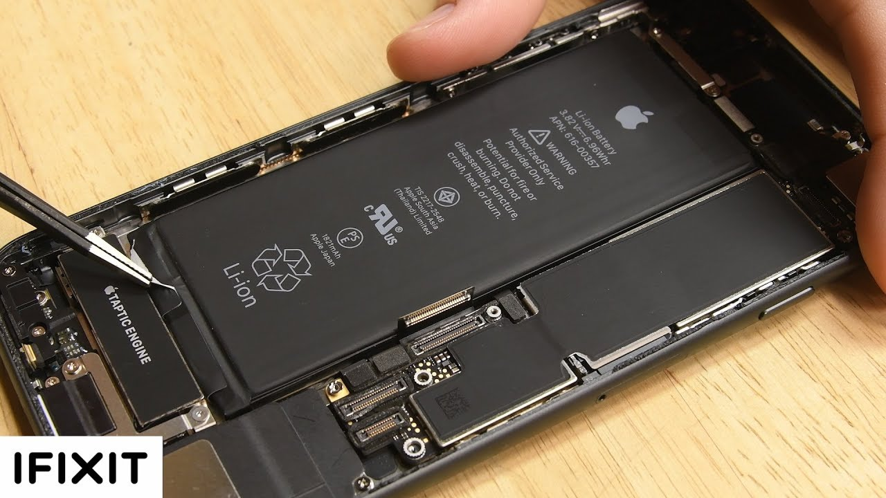Iphone 8 Battery Replacement How To Youtube