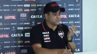 Atlético: Técnico Marcelo Cabo explica derrota para o Goias no clássico