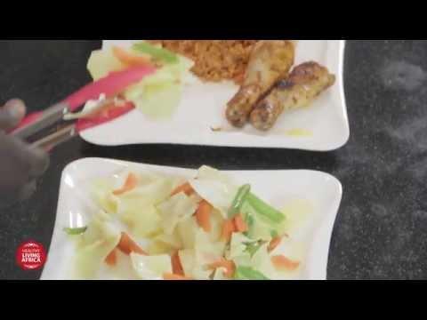 HEALTHY LIVING AFRICA: Low Salt Recipes - Jollof Rice