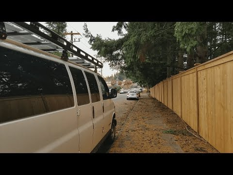 Van Life : How to find free safe overnight parking in big cities (Stealth Camping in the City)