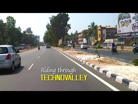 Ride through Technovalley, Trivandrum  February 2018