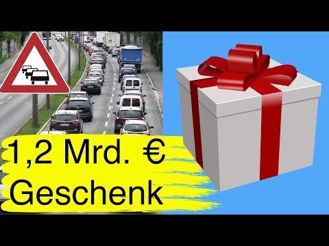#113 Deutsche Autofahrer haben 1,2 Mrd. Euro geschenkt bekommen
