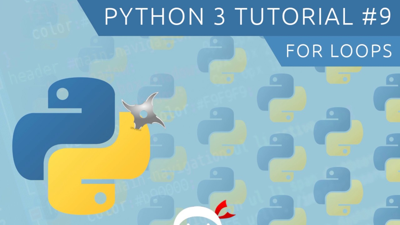 Python 3 Tutorial for Beginners #9 - For Loops