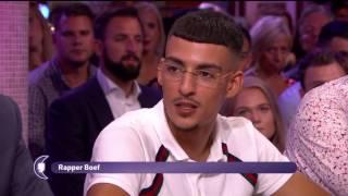 RAPPER BOEF DIST JOHN VAN DE HEUVEL BIJ RTL LATE NIGHT! RWINA
