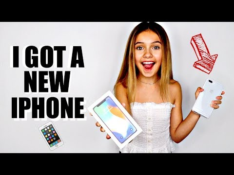 SHOPPING FOR AN IPHONE VLOG  What I got for my birtay 🎁📱