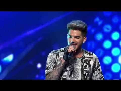 "Adam Lambert canta ""I Want To Break Free"" com candidato do ""The X Factor Australia"" - legendado"