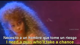 Whitney Houston I Wanna Dance Somebody Lyrics English Espa