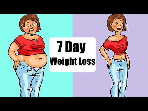 Do This Easy 7 Day Weight Loss Challenge At Home