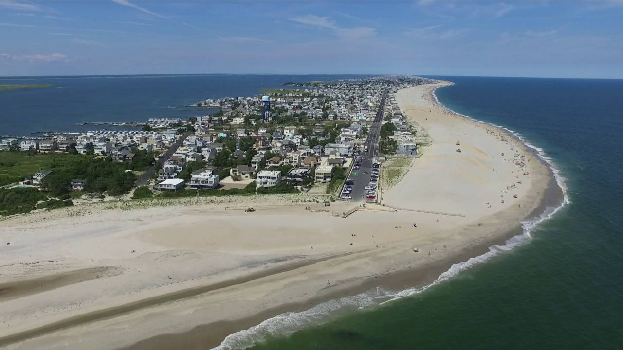 Long Beach Island New Jersey  Drone Footage