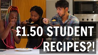 CHEAP, QUICK & TASTY Student Recipes for University (Chick Pea Curry) - COOKING WITH SEASONING EP. 1