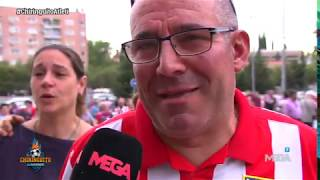 Los recuerdos de la afición del Atleti en la despedida del Vicente Calderón