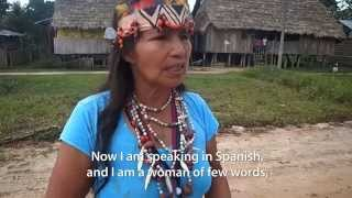 Testimonial of a Kichwa Mother: Solutions for Oil Contamination Now!