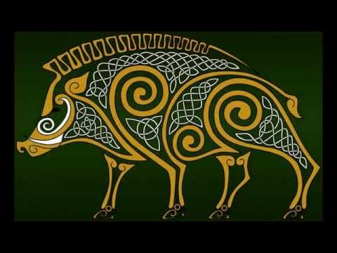 Amhrán Pheter Mhícil Báille (Sean Nos song set to Celtic art)