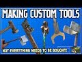 Making Your Own Custom Tools. Sometimes DIY Is Better!