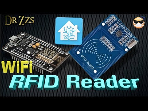 ID Card Scanner using NodeMCU, MFRC-522, esp-rfid firmware, and of course,  Home Assistant