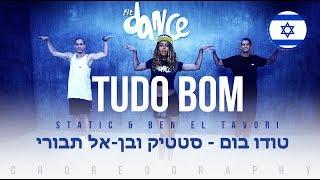 Video Tudo Bom - Static & Ben El Tavori (טודו בום ) | FitDance Life (Choreography) Dance Video download MP3, 3GP, MP4, WEBM, AVI, FLV November 2018