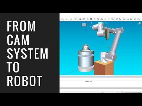 FROM CAM SYSTEM TO ROBOT _ Eureka Virtual Machining 8.5
