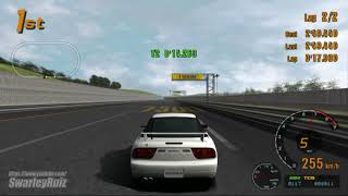 Gran Turismo 3 A-Spec PS2 | Test Course | Nissan 200SX Type-X '96
