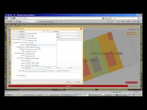 Lecci n tutorial 4 la oficina virtual catastral ovc for Oficina virutal catastro