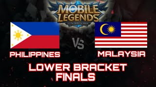 PHILIPPINES VS MALAYSIA LOWER BRACKET FINALS SEA GAMES 2019 Full game