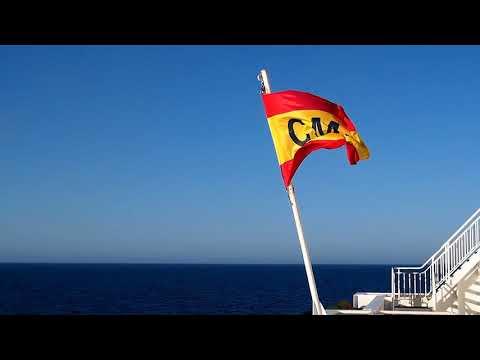 Trasmediterránea ferry from Málaga to Melilla