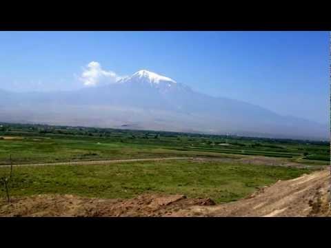 ARMENIA _Mount ARARAT from  KHOR VIRAP (July 2012)