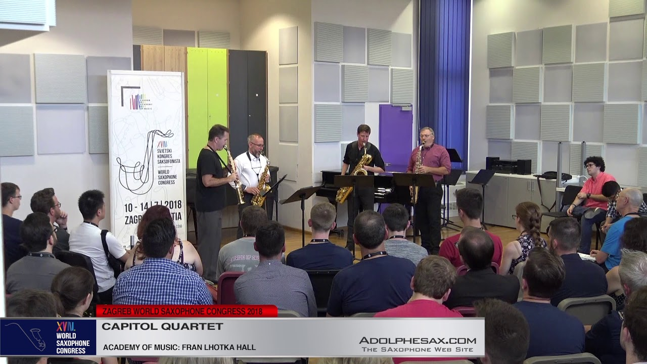The Mechanics: Six from the shop floor by Carter Pann   Capitol Quartet   XVIII World Sax Congress 2