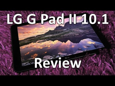 LG G Pad II 10.1 Review - dated specs, so what?