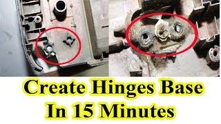 Repair Laptop Hinges base in 15 minutes tricks