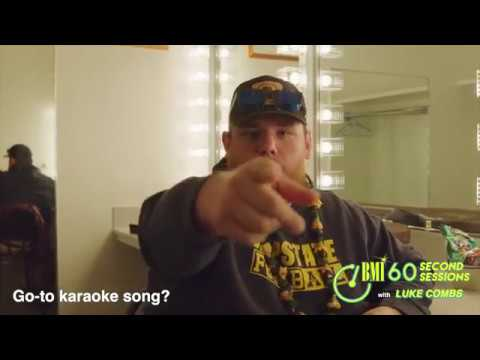 Find Out What Luke Combs Can't Leave Home Without | 60 Second Sessions