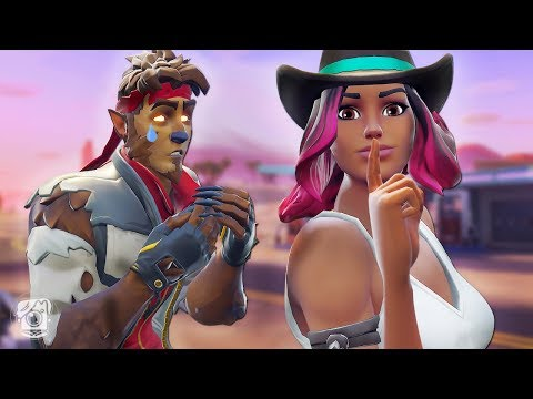 CALAMITY IS CHEATING ON DIRE?! *NEW SEASON 6* - A Fortnite Short Film