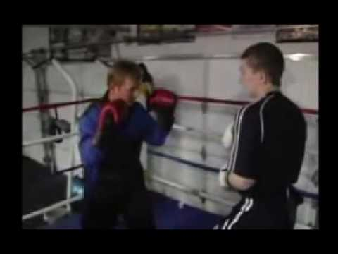 Ricky Hatton Bisaya version pre-fight demo for Manny Pacquiao fight!