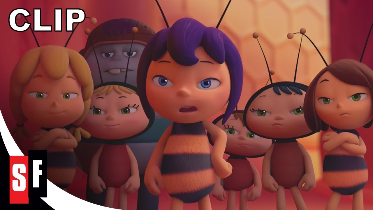 Download Maya the Bee: The Honey Games (2018) - Clip: Meeting Violet (HD)