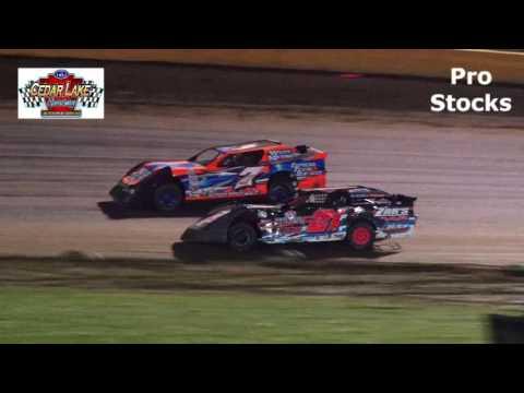9-17-2016 Pro Stocks Cedar Lake Speedway