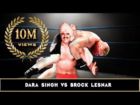 Wwe Dara Singh Vs Brock Lesnar