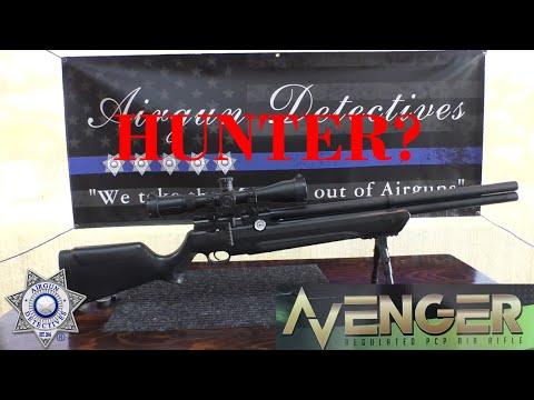 Air Venturi Avenger, .25 cal. Regulated PCP Air Rifle