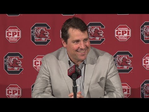 Will Muschamp Weekly News Conference — 10/30/18